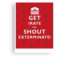 GET IRATE Canvas Print
