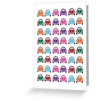 Little Cars Card Greeting Card