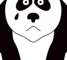 GOTH BEAR (BLACK TEXT) Sticker