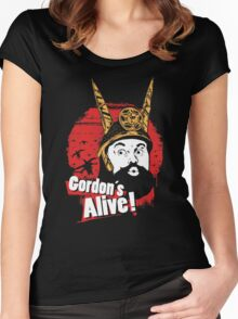 Gordon's Alive! Women's Fitted Scoop T-Shirt