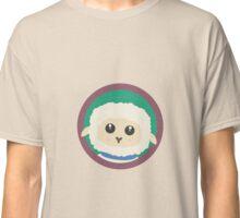 Cute Sheep with purple Circle Classic T-Shirt