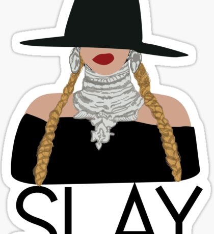 Slay - Queen Bee Beyonce  Sticker