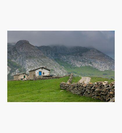 Soba valley, Cantabria Photographic Print