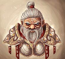 Dwarf with BG by MrSanco