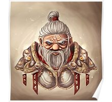 Dwarf with BG Poster