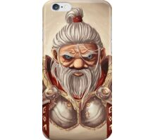 Dwarf with BG iPhone Case/Skin