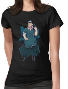 Thor in a skirt 7 Womens Fitted T-Shirt