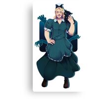 Thor in a skirt 7 Canvas Print