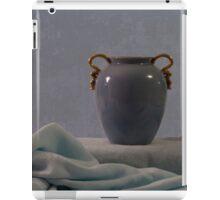 Blue Vase And Damask iPad Case/Skin