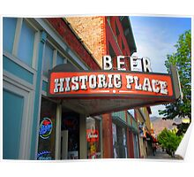 Beer, Historic Place, Ogden, UT Poster