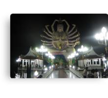 Thailand Temple Statue  Canvas Print
