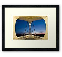 Bridge of Lusitania Framed Print
