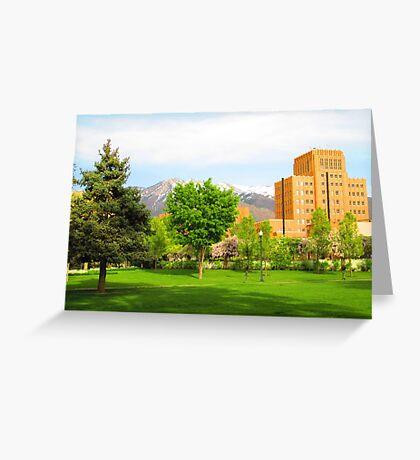 Ogden Municipal Building, UT Greeting Card