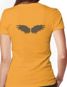 Demonic wings Womens Fitted T-Shirt