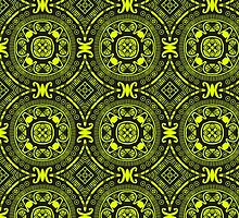 Aztec Lime Green Phone Case by TomsTops