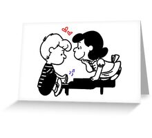 Lucy & Schroeder Greeting Card