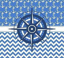 Captain's Compass by AntiqueImages