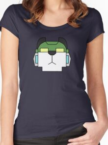 Voltron- Green Lion  Women's Fitted Scoop T-Shirt
