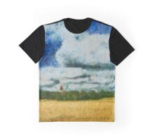 Summer landscape Graphic T-Shirt