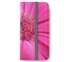 Essence of Pinkness - Pink Gerbera Closeup iPhone Wallet/Case/Skin
