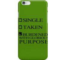 Single Taken..LOKI iPhone Case/Skin