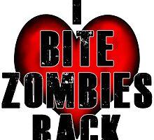 I Bite Zombies Back by zombiemama