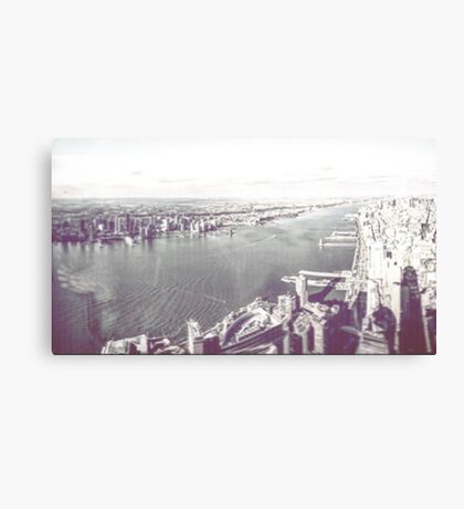 New York From a New Zenith (Part 2) 2016 Canvas Print