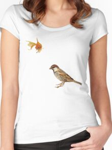 hooked Women's Fitted Scoop T-Shirt