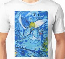 Jakobs Dream 2 - Tribute to Marc Chagall Unisex T-Shirt