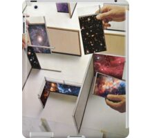 Putting the universe in place iPad Case/Skin