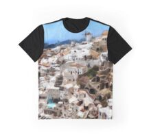 Greece, Santorini Graphic T-Shirt