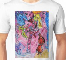 Jakobs Dream 1 - Tribute to Marc Chagall Unisex T-Shirt