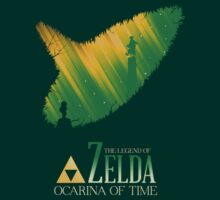 The legend of zelda ocarina of time by Suprah