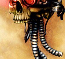 Maniacal Skull  Sticker