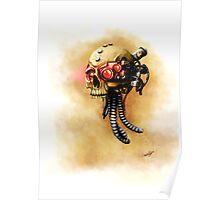 Maniacal Skull  Poster