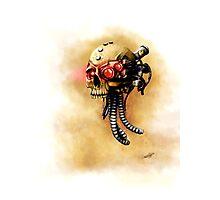 Maniacal Skull  Photographic Print