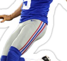 New York Giants Weatherford Sticker