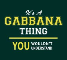It's A GABBANA thing, you wouldn't understand !! by satro