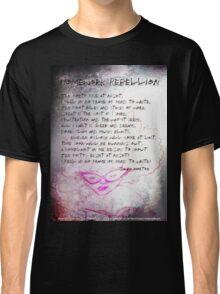 Homework Rebellion, girl reading, horse Classic T-Shirt