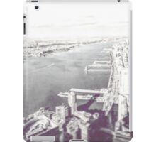 New York From a New Zenith (Part 2) 2016 iPad Case/Skin