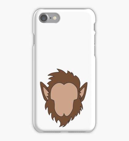 Werewolf Halloween Monster iPhone Case/Skin