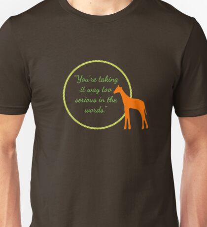 Too Serious in the Words T-Shirt