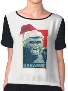 Harambe - Christmas Holidays Chiffon Top