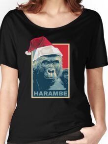 Harambe - Christmas Holidays Women's Relaxed Fit T-Shirt