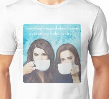 Everything is magical when it snows. Everything looks pretty. Unisex T-Shirt