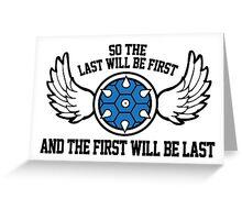 Mario Kart Blue Shell Greeting Card
