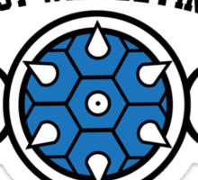 Mario Kart Blue Shell Sticker