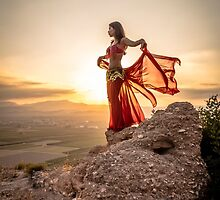 Catalonian Dancer 1 by Robbie Labanowski