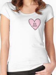 BETH CHILDS HEART Women's Fitted Scoop T-Shirt