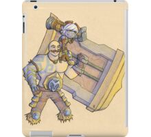 Prepare for the Victory Lap - Braum and Tristana iPad Case/Skin